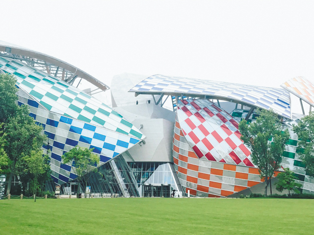 Fondation Louis Vuitton - Mesures de contrainte des tirants Macalloy